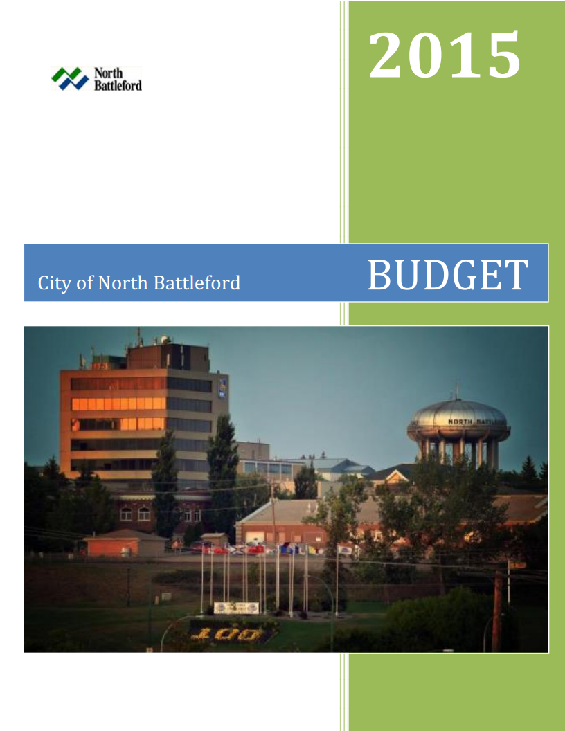 2015 Budget Cover